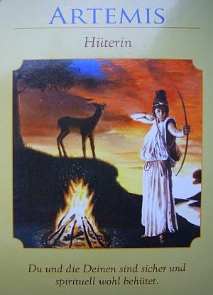 Kartenquelle: Doreen Virtue - Orakel der Göttinnen