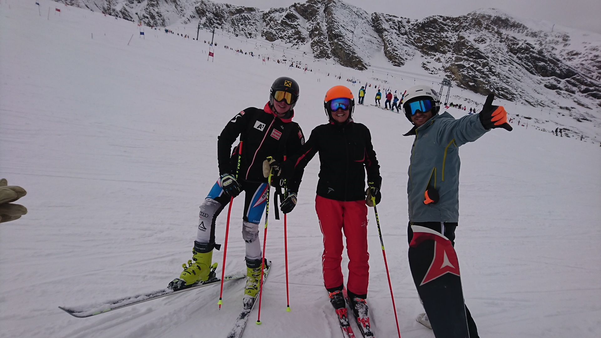 Florian, Claudia, Dani