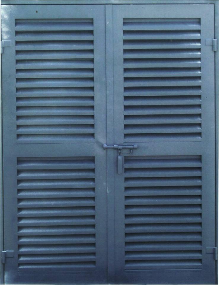 PUERTA LOUVER (TIRA) MODELOS RECTA - JOTA -  Z - V INVERTIDA - Z a 90° - D - L a 30° PUERTA 34