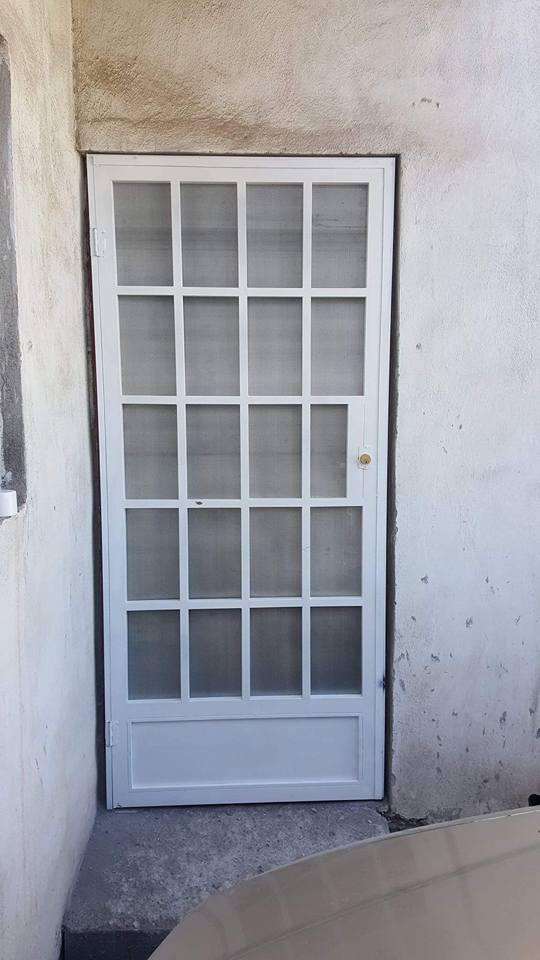 """Metal Desplegado en Malla Mosquitera MOSQUIRED para puertas y ventanas en Rollo y Hoja de Metal Desplegado AI """"GRUDISA"""""""