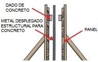 Malla para Construcción Estructural para Reforzar muros de Concreto