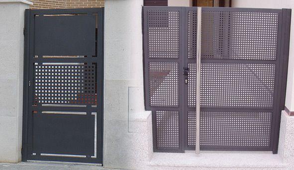 Puerta De Hierro Chapa Decorativa
