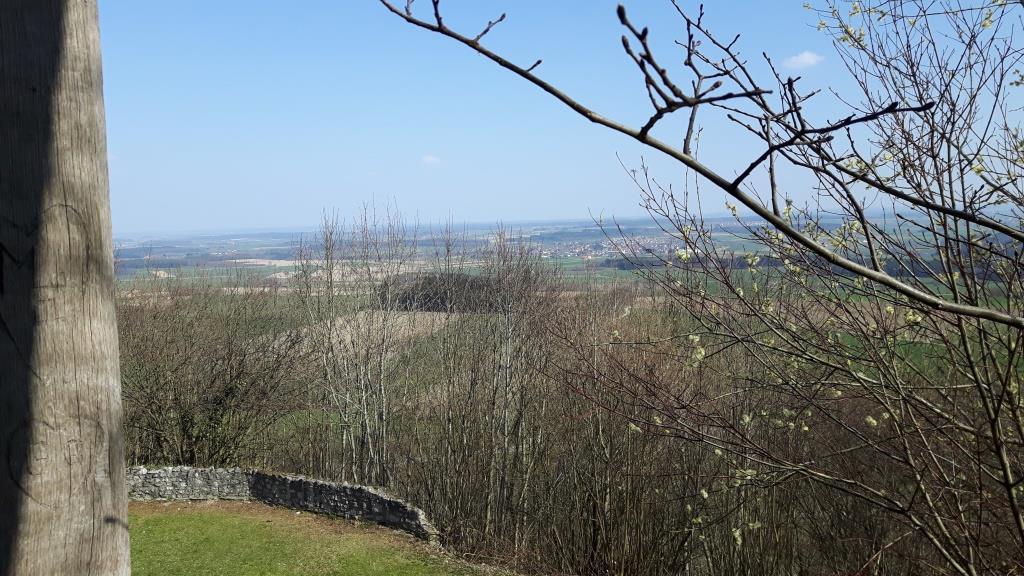 Ausblick von der Burg des Bussen