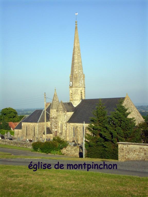 Eglise de Montpinchon
