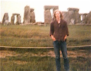 Stonehenge when I was a young lad.