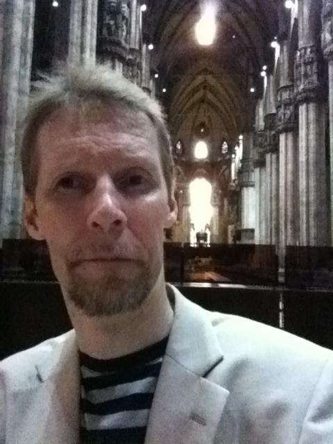 Me in Il Duomo in Milano