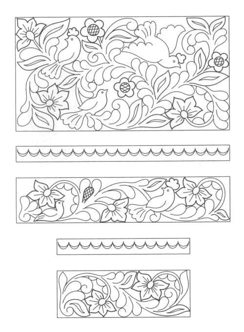 Русские орнаменты и узоры (растровый клипарт) - clipartis ... Шитье Клипарт