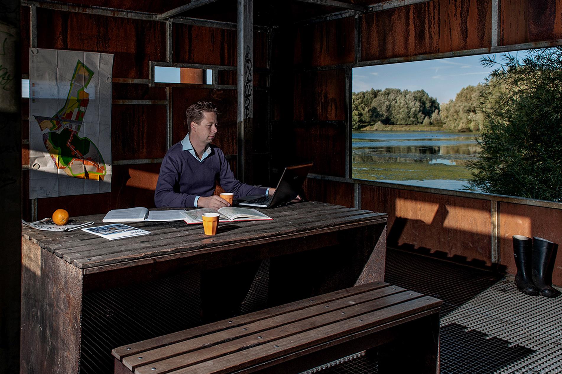 Maarten Bosman - planoloog en eigenaar Dutchplanners