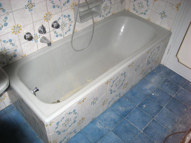 Bagno sovrapposizione vasche da bagno rismaltatura vasche da