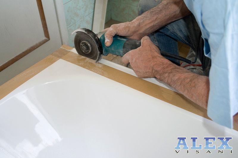 Vasca Da Bagno Rotta : Sistema vasca nella vasca da vasca a doccia sostituzione e