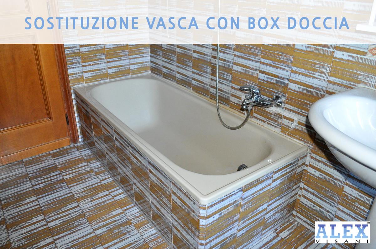 Vasca Da Bagno Rovinata : Da vasca a doccia installazione a prato da alex visani