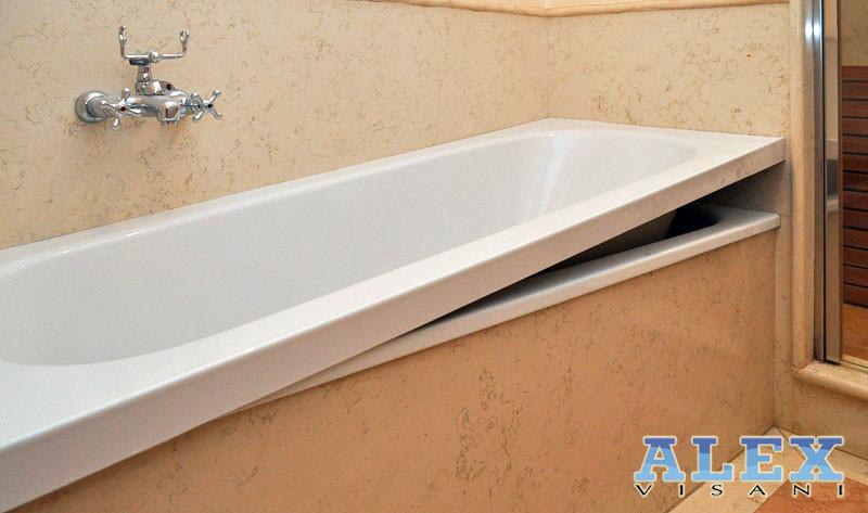 Sistema vasca nella vasca da vasca a doccia sostituzione e sovrapposizione piatto doccia - Non solo bagno livorno ...
