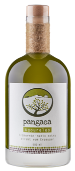 Pangaea extra natives Olivenöl aus der Frühernste (Agoureleo) aus Griechenland