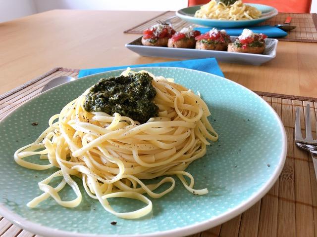 Daraus lässt sich die schnellste und leckerste Spaghetti aller Zeiten zaubern.
