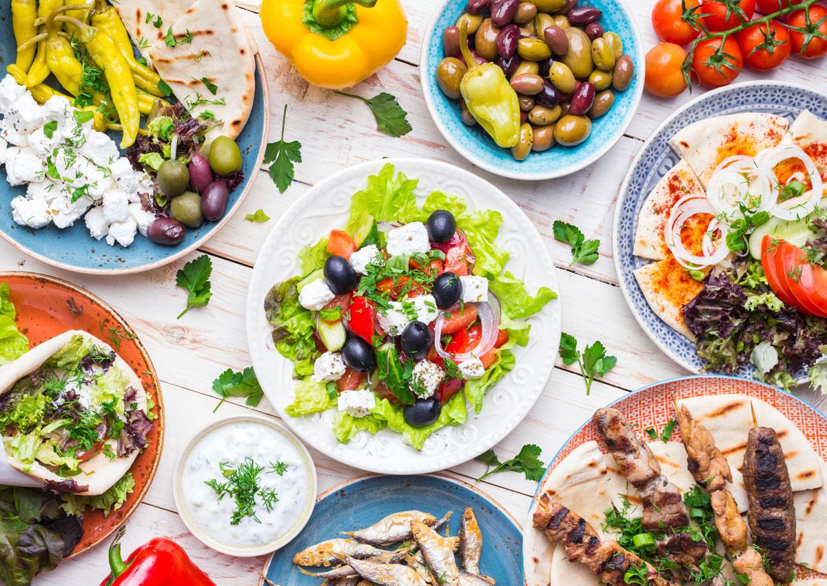 Die Griechen und ihre Essensgewohnheiten