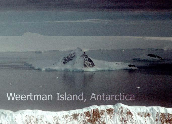 Weertman Island, Antarctica