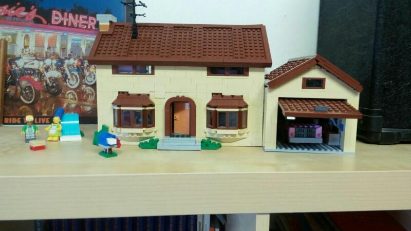 Juan Hidalgo (Valladolid) Lego La casa de los Simpsons