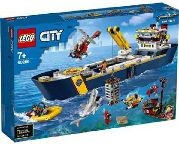 60266 OCEANO: BUQUE DE EXPLORACIÓN
