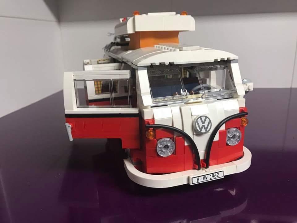 Sandra (Valladolid) Lego Furgoneta WV