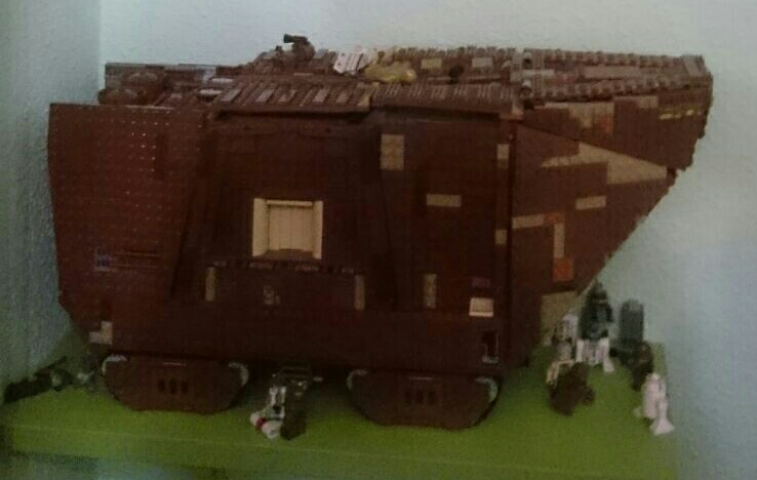Aitor (Valladolid) Lego Star Wars Sandcrawler