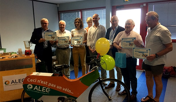 Un Degré Cinq récompensée au Challenge Mobilité Régional