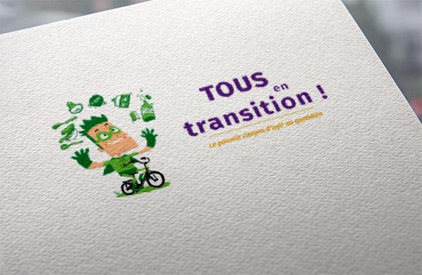 Agence de communication écologique Un Degré Cinq à Bourg-en-Bresse : création du site internet Tous en Transition 38