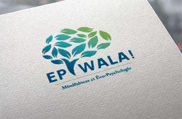 Agence de communication méditation à Bourg-en-Bresse : création du logo EPIWALA