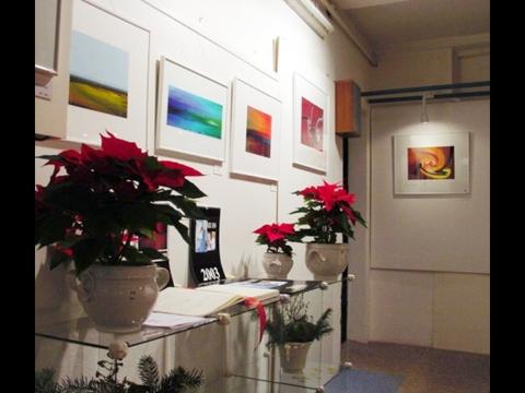 Auch der Brennraum wurde während der Ausstellung zur Galerie!