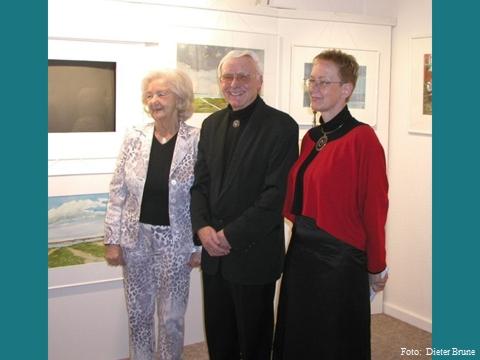 v.l.n.r.  Friedel Thoms / Hans-Jochim Thoms / Annette Mewes-Thoms