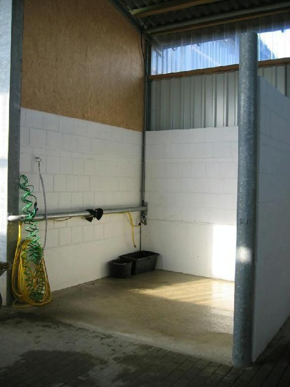 Ansicht Waschstation/Solarium