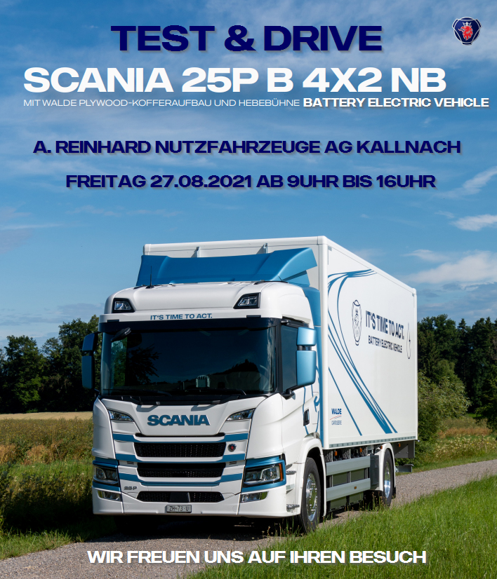Der erste Scania BEV ist da!