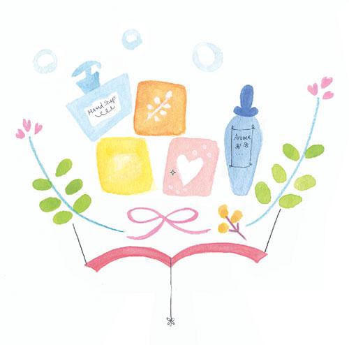 同 手作り石けん教室用イラスト(プレゼンのみ)