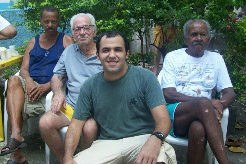 Rafael / coordenador com Sr Luís , Sr Miguel e Durval =)