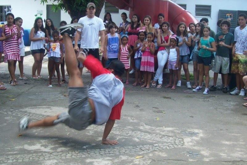 Apresentação do Street dance