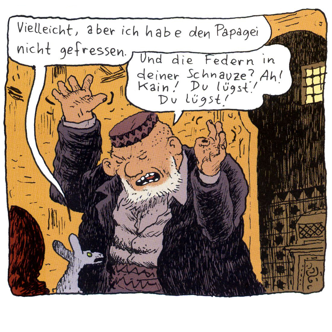Die Katze des Rabbiners als Hörspiel