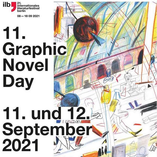 11. Graphic Novel Day | ILB Berlin |11. & 12.9 |