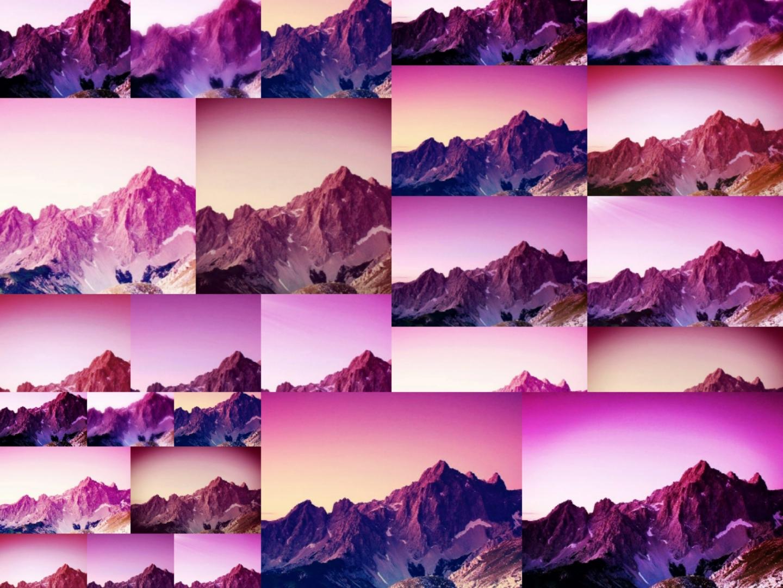 Das Alpenglühen