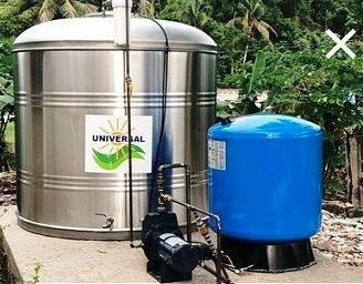 ¿Por qué las cisternas de Universal Solar son construidas en stainless steel 304?