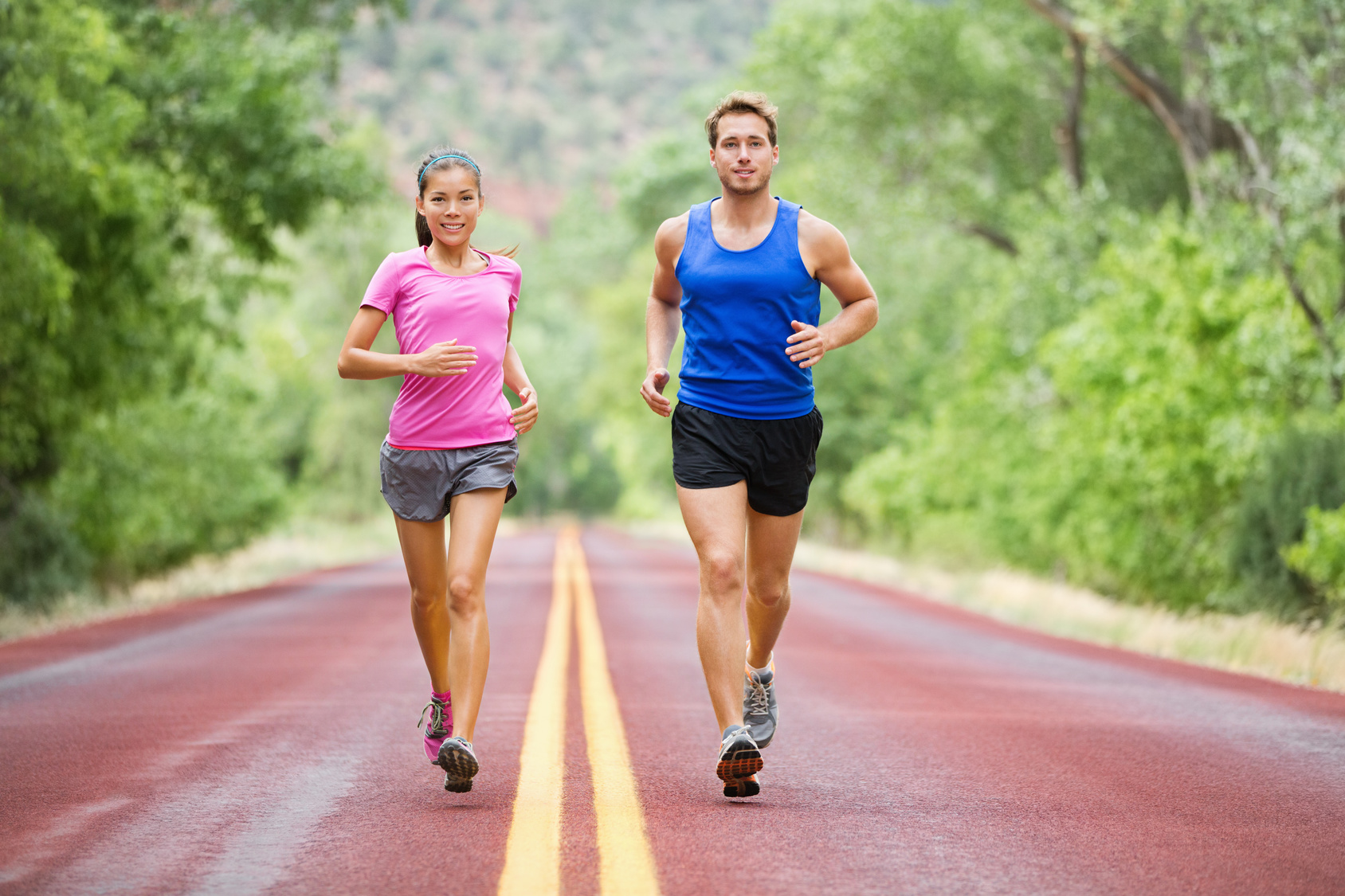 Athletes develop varicose veins due to the increase volume of blood that is pushed through the system. They may not feel as many symptoms until an injury causes them to slow down.