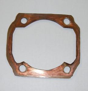 Bild: Kupfer-Fußdichtung Marke Eigenbau