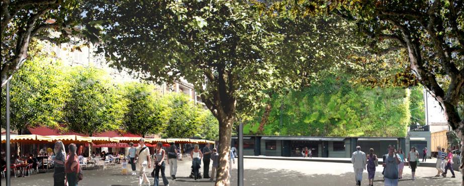 La place Pie à Avignon