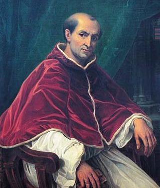 """Der erste Papst, der sich in Avignon angesiedelt hat, Clément V. Avignon, nur 15 km von den Gäste zimmer """"Le clos des Sorgues"""" entfernt"""