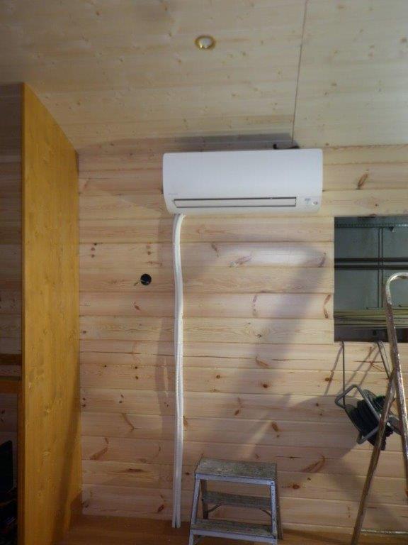 L'air conditionné  daikin,  19 db