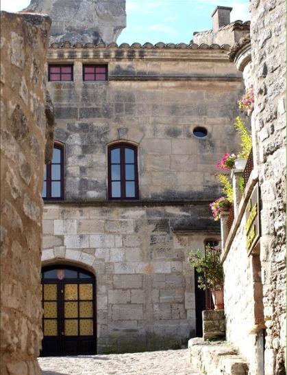 Die Villen in les Baux de Provence