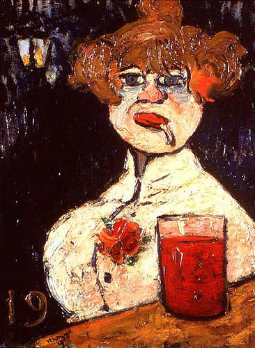 Sur le Zinc, Malerei im Avignon Calvet Kunst Museum