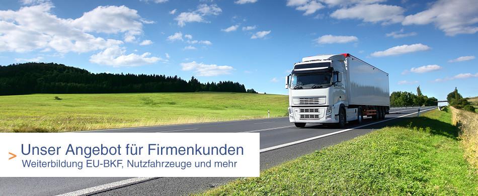 Führerscheine Ulm für Unternehmen - LKW-Führerscheine