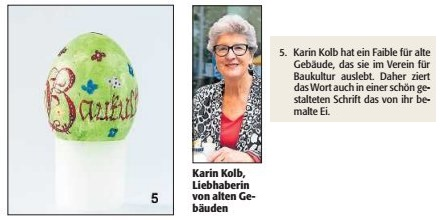 Verein für Baukultur und Stadtgestaltung Kaiserslautern e. V. - Ostereier-Raten