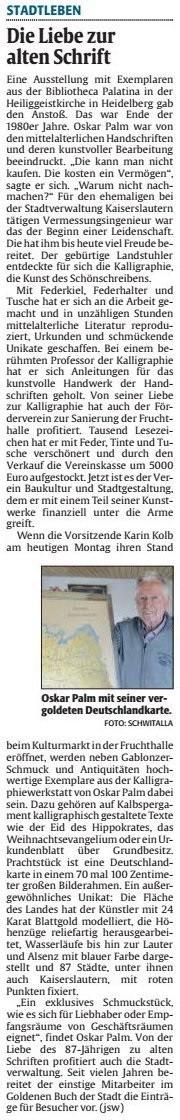 Verein für Baukultur und Stadtgestaltung Kaiserslautern e. V. - Palm