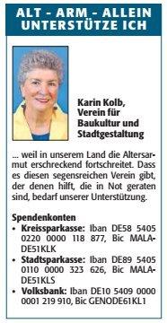 Verein für Baukultur und Stadtgestaltung Kaiserslautern e. V. - Alt Arm Allein