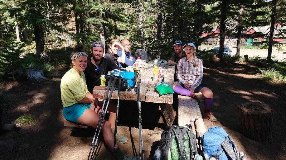 Tramily = trail family